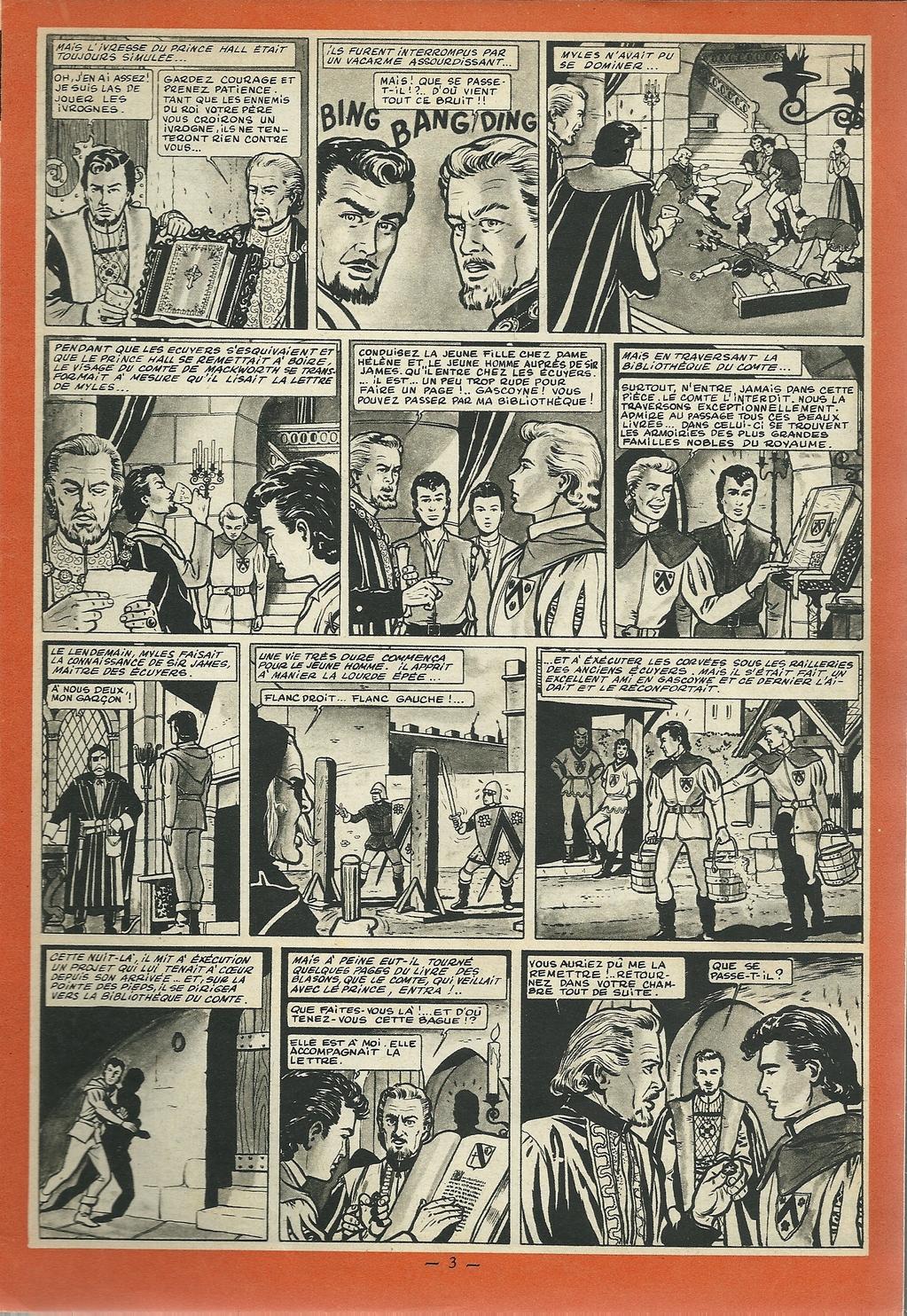 Jean Graton - Le bouclier noir 02 - Tintin 1955 - 04