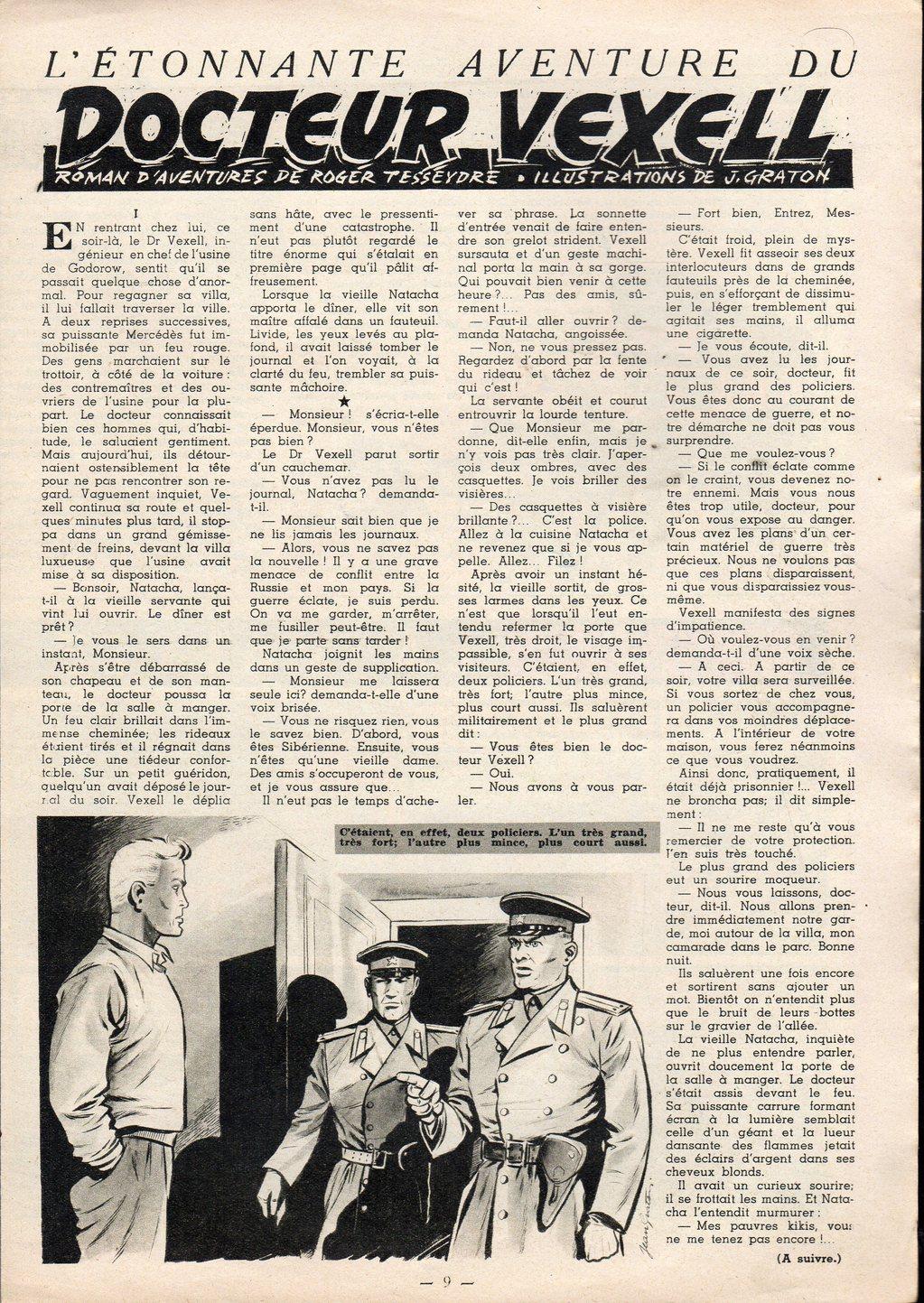 Jean Graton - Tintin 1954 - Dr Vexell (26)