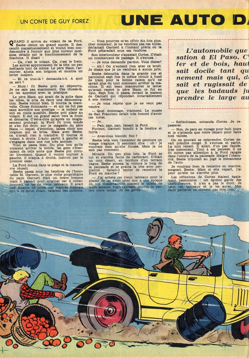 Jean Graton - Une auto dans la ville 01 - Tintin 1957 23