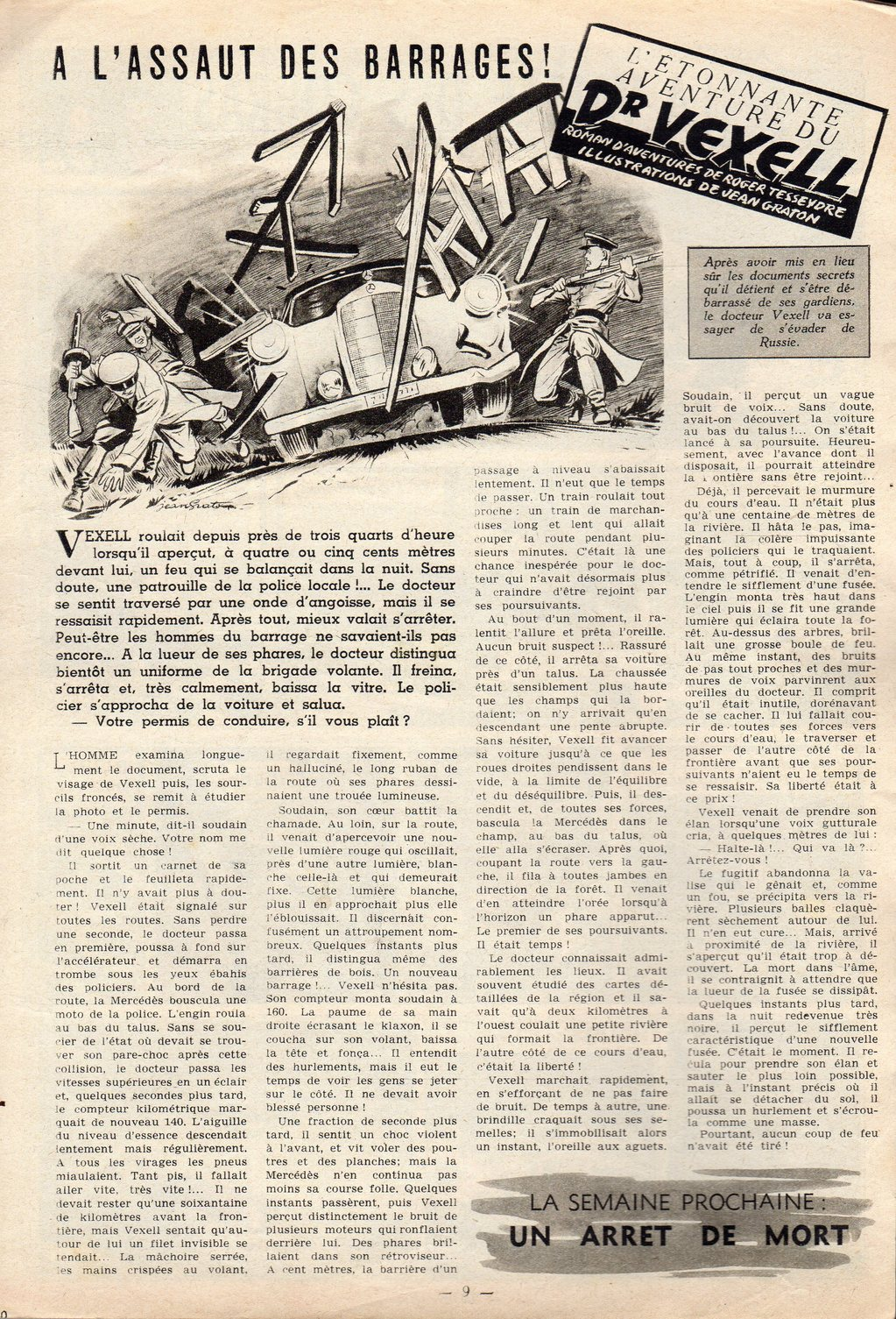 Jean Graton - Tintin 1954 - Dr Vexell (30)