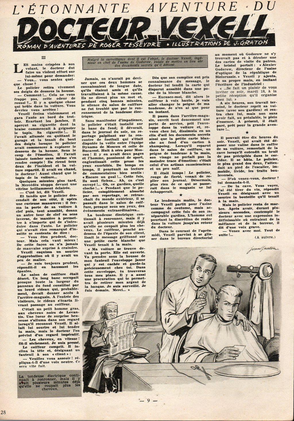 Jean Graton - Tintin 1954 - Dr Vexell (28)