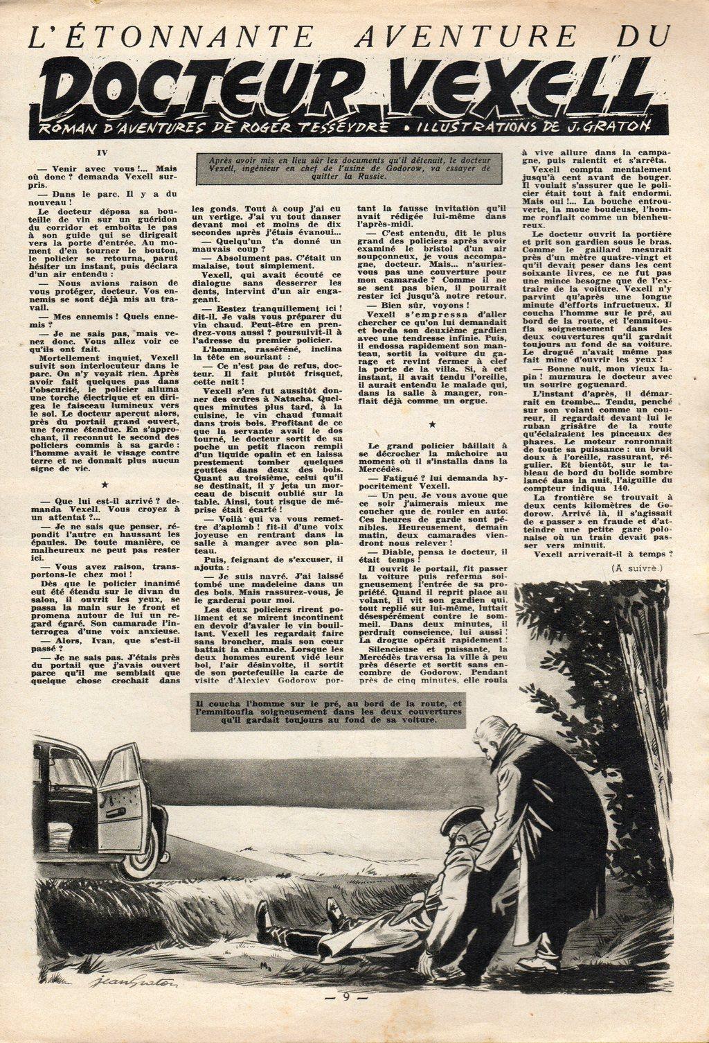 Jean Graton - Tintin 1954 - Dr Vexell (29)
