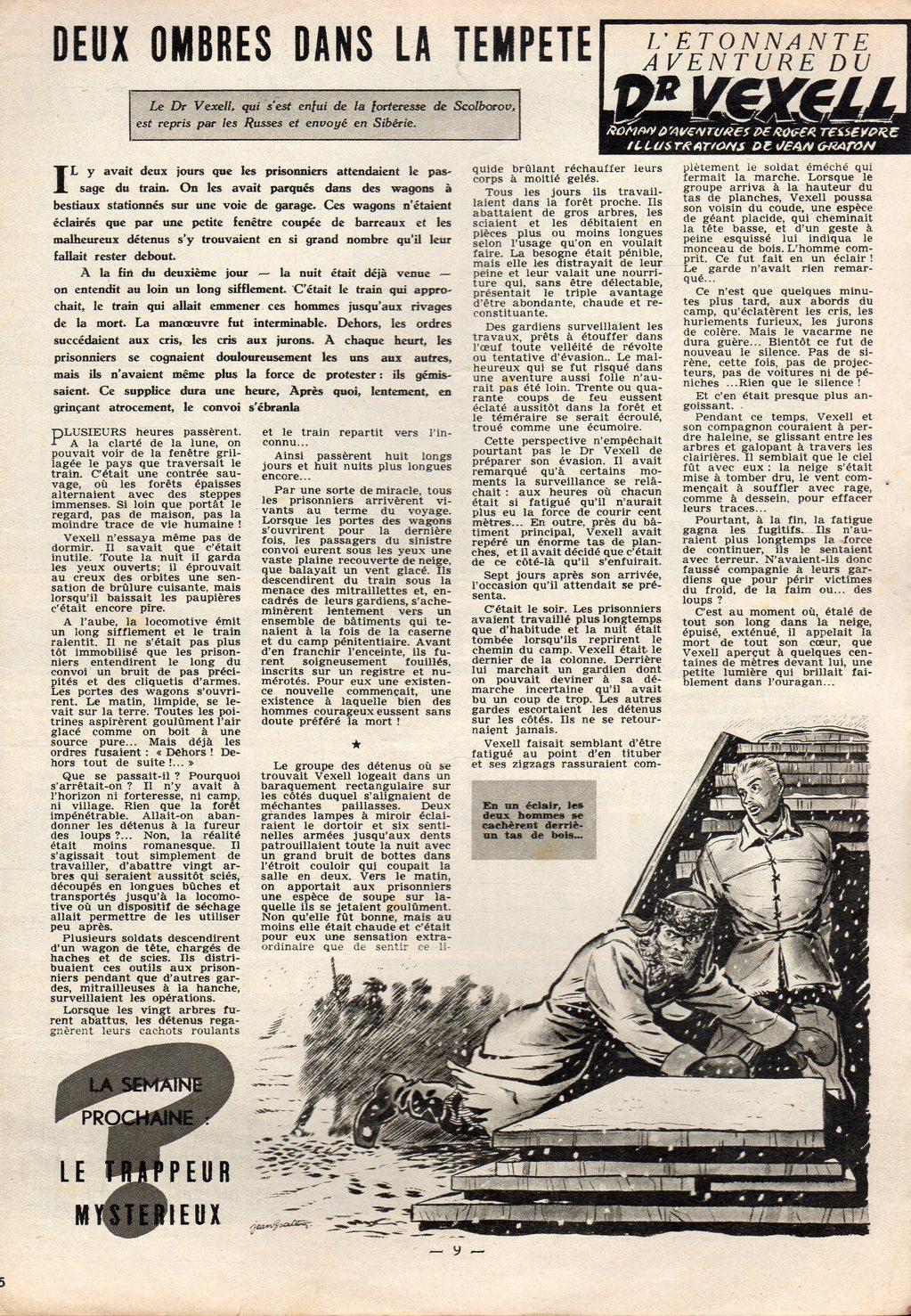 Jean Graton - Tintin 1954 - Dr Vexell (35)
