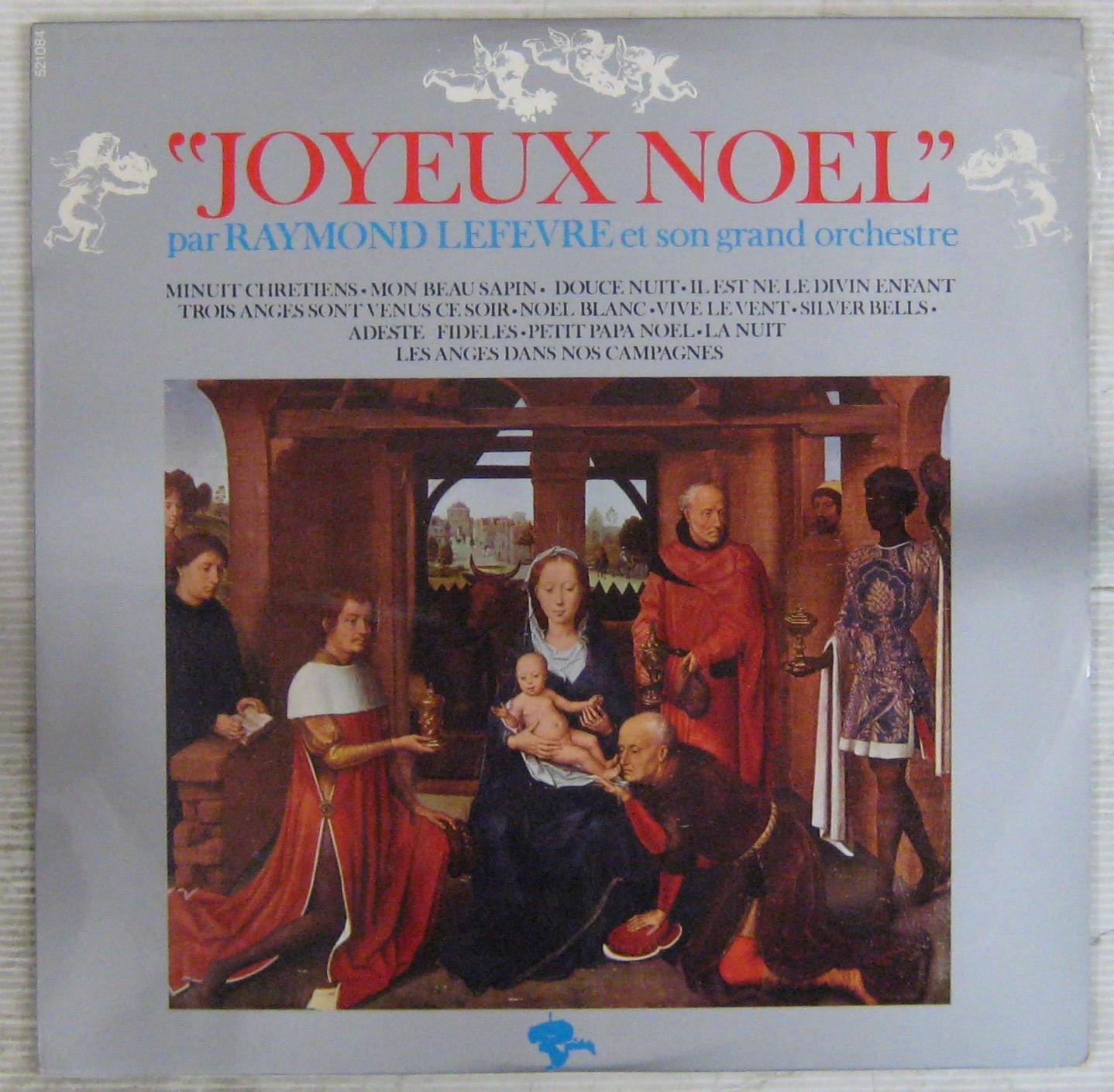Adeste Fideles Joyeux Noel.Joyeux Noel By Raymond Lefevre Et Son Orchestre Lp With