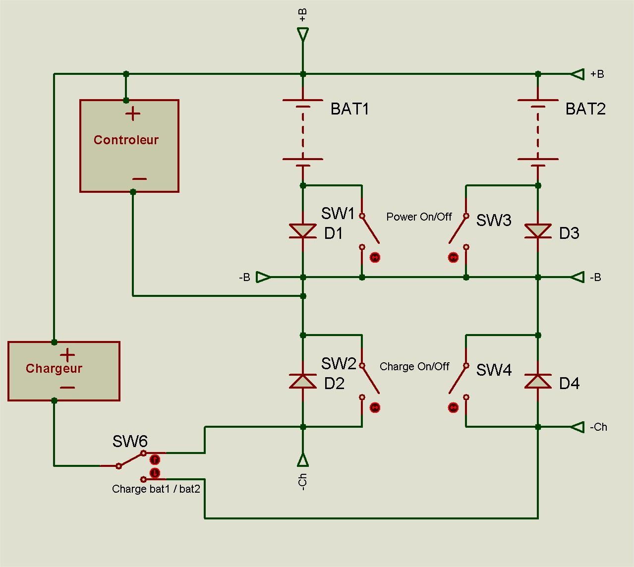 Pourquoi il ne faut pas mettre en dérivation complète deux batteries 19052110252212779416246499