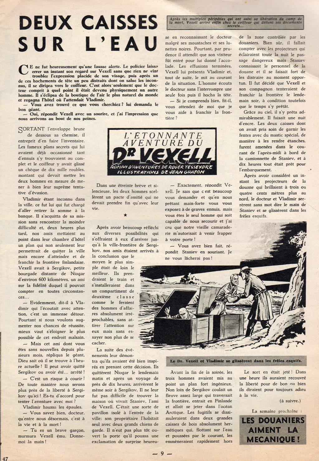 Jean Graton - Tintin 1954 - Dr Vexell (47)