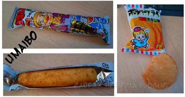 umaibo et chips