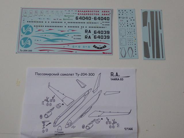 Tupolev TU 204-300 1905240818039175516249221