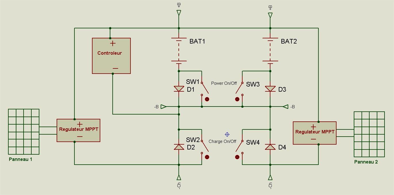 Pourquoi il ne faut pas mettre en dérivation complète deux batteries 19052408584512779416249253