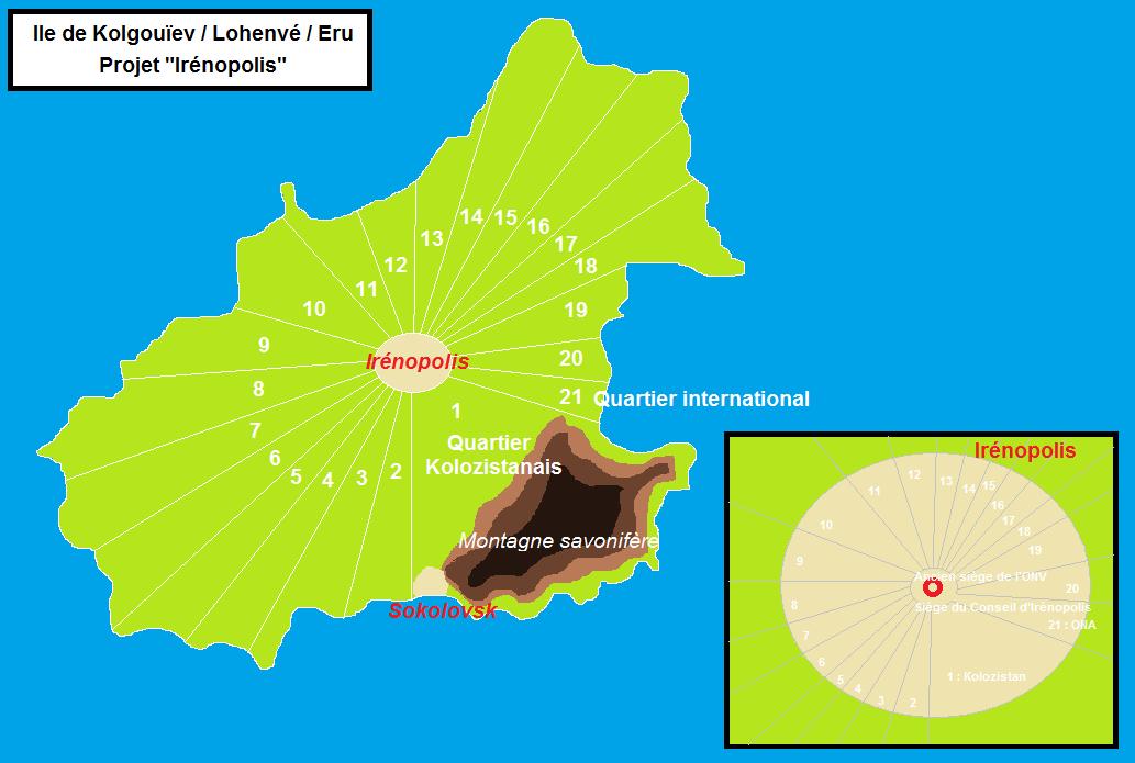 Résolution portant sur la création de la cité d'Irénopolis 1905291147086391416254711