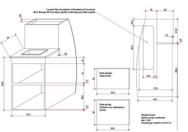 Vw Camper Fr Afficher Le Sujet Plan Des Meubles T1 T2