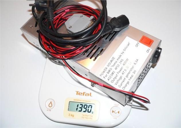 Un chargeur 48V/400W CC/CV 19060408351812779416262319