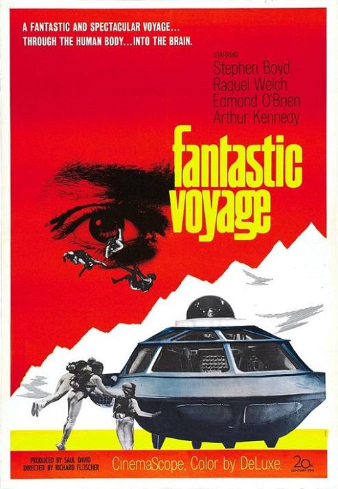 POSTEROÏDE - Fantastic Voyage dans Cineteek 19060511443015263616262918