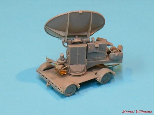Radar FUSE 620 WÜRZBURG             kit Hauler 1/72 1906100752105625616267894