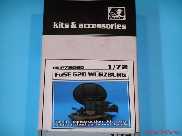 Radar FUSE 620 WÜRZBURG             kit Hauler 1/72 1906100752175625616267897