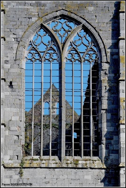 Abbaye d'Aulne, photographie infrarouge par Pierre BOURGUIGNON, Belgique