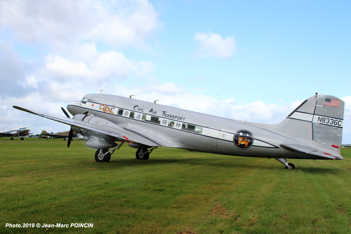 DC-3 Civil Air Transport N8336_Caen_Photo.2019©J-M POINCIN_4612mr