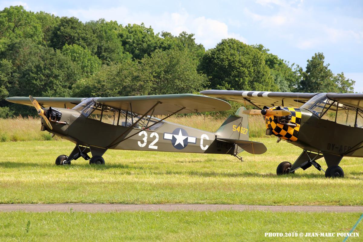 Piper L-4J OY-ECS_L-Bird St André Eure_Photo.2019©J-M POINCIN_4842mr
