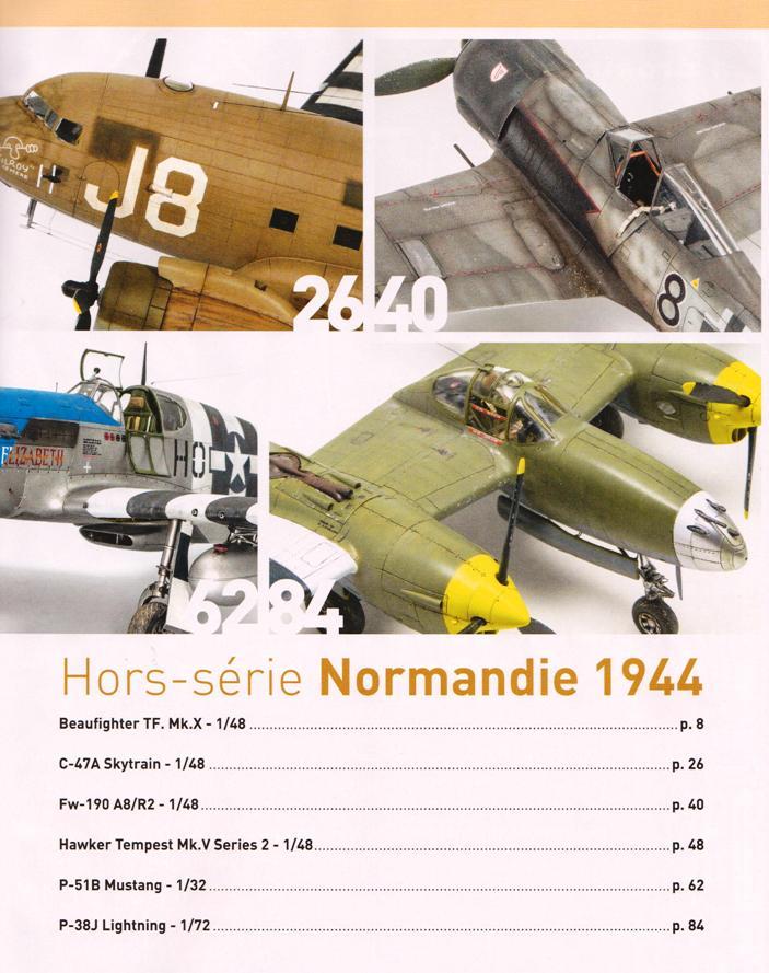 """Wing-Masters Hors-Série N°1, """"Il y a 75 ans, la bataille de Normandie"""".  1906171127269210116277506"""