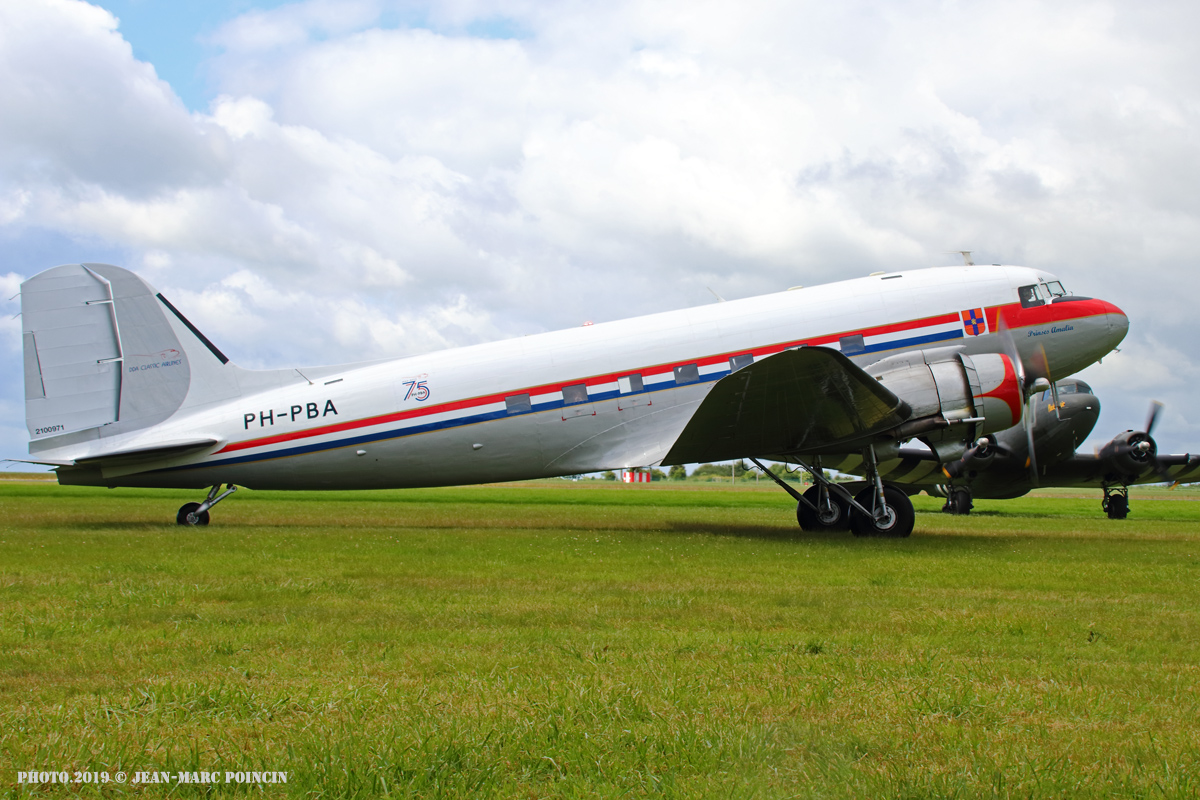 DC-3 PH-PBA_Caen_Photo.2019©J-M POINCIN_4677mr
