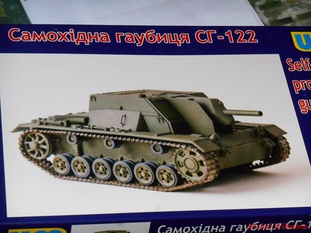 SU 122  sur chassis de Panzer III kit 1/72 UMmodel 1906230307095625616283901
