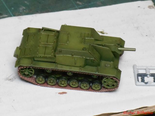 SU 122  sur chassis de Panzer III kit 1/72 UMmodel 1906230308045625616283912