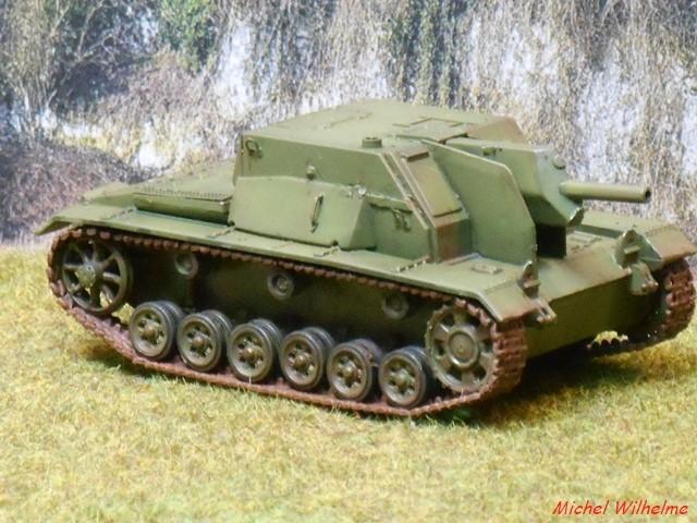 SU 122  sur chassis de Panzer III kit 1/72 UMmodel 1906230308195625616283915