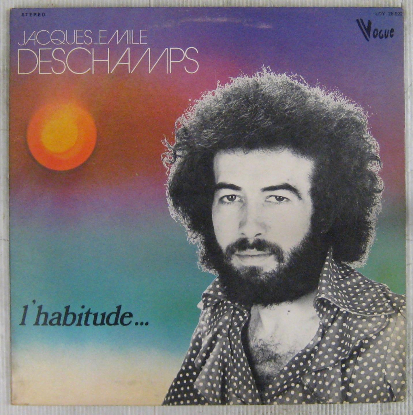 Deschamps Jacques-Emile L'habitude...