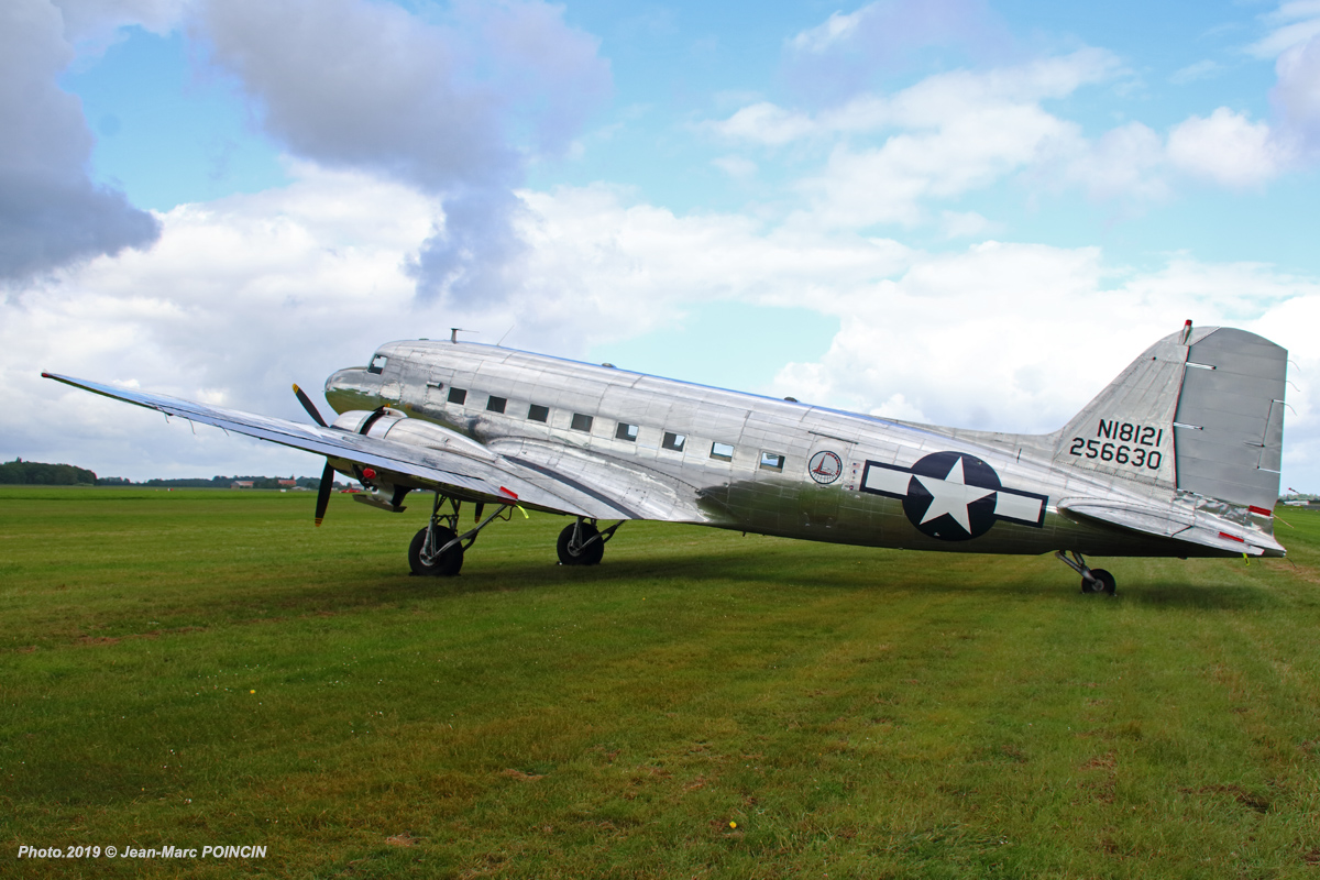 DC-3 N18121_Caen_Photo.2019©J-M POINCIN_4621mr