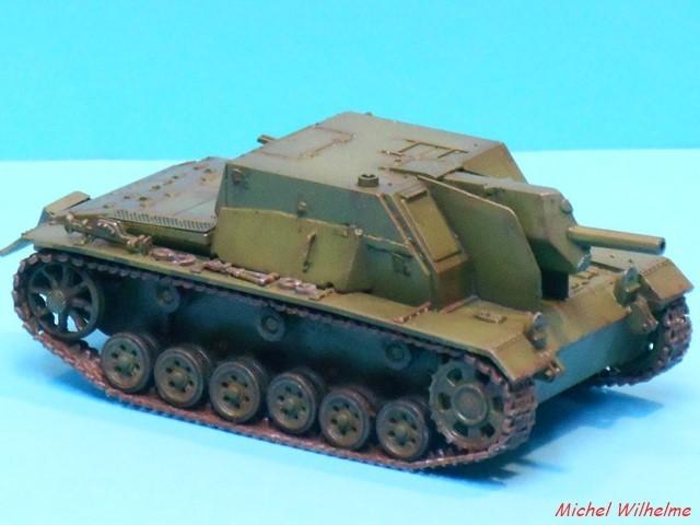 SU 122  sur chassis de Panzer III kit 1/72 UMmodel 1907040732255625616298951