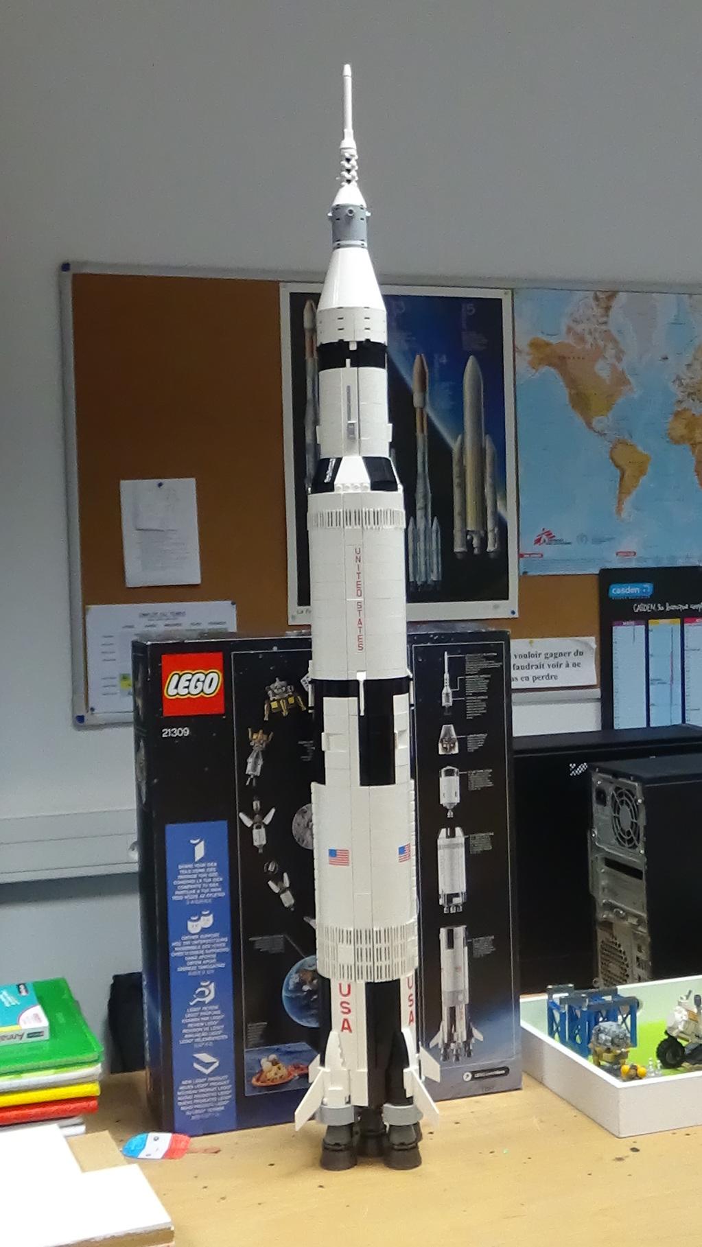 Montage de la fusée Saturn V pour le vol Apollo 11 - Page 3 19071103134223134916308176