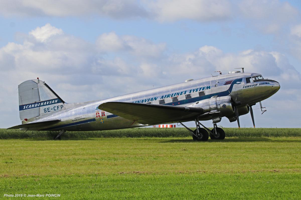 DC-3 SE-CFP_Caen_Photo.2019©J-M POINCIN_4534mr