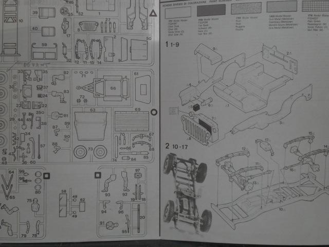 "[ITALERI] Willys MB ""jeep"" 1/35 REF 314 Notice 19072003485523569816321347"