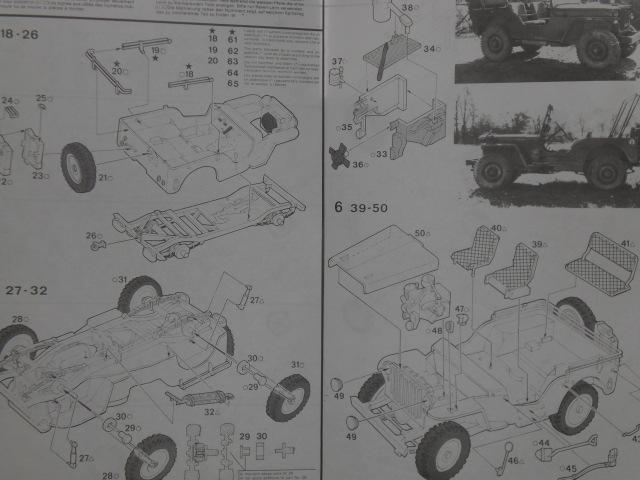 "[ITALERI] Willys MB ""jeep"" 1/35 REF 314 Notice 19072003485623569816321349"