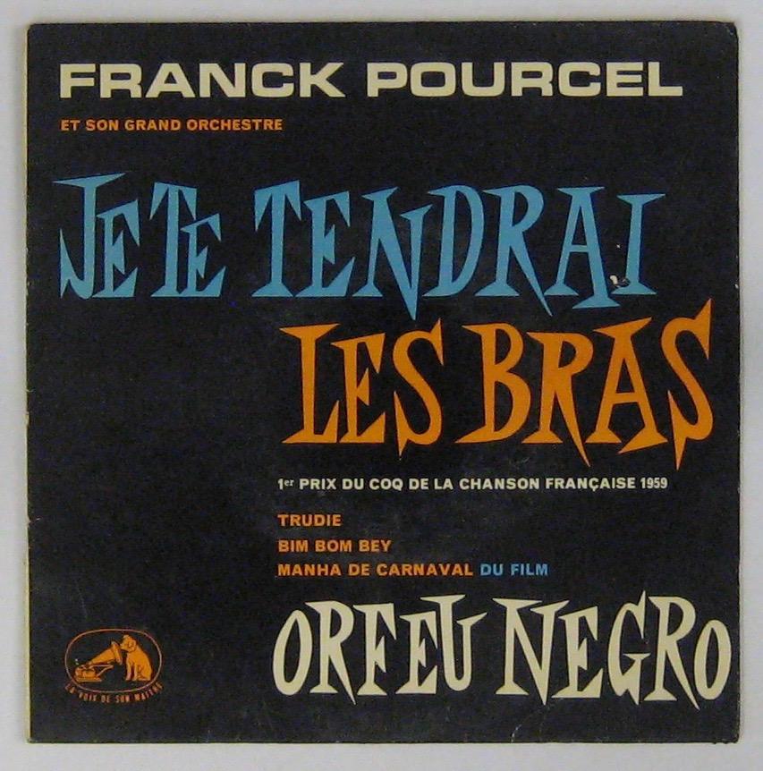 POURCEL FRANCK - Je te tendrai les bras - 45T (EP 4 titres)