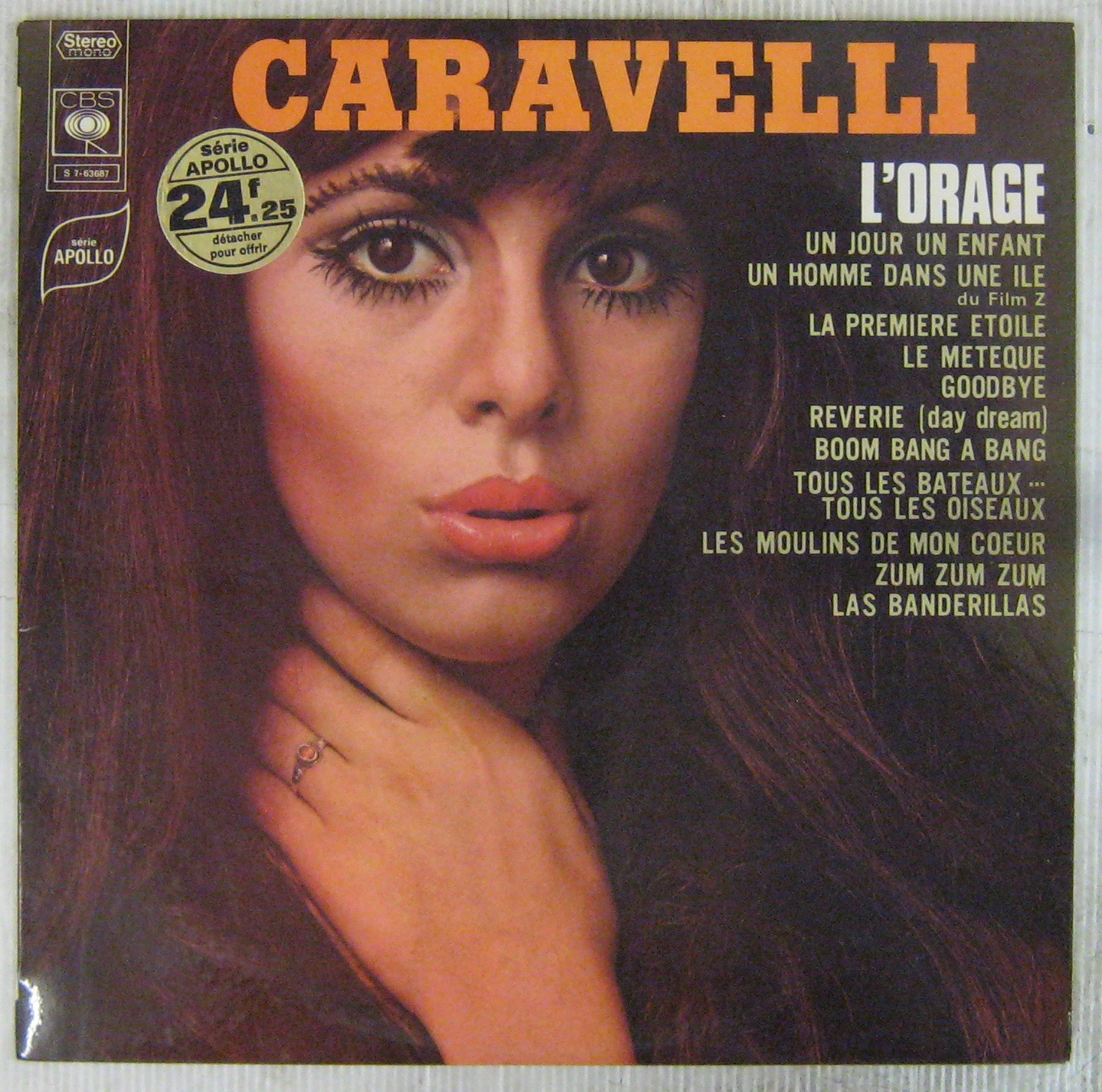 CARAVELLI - L'orage - 33T