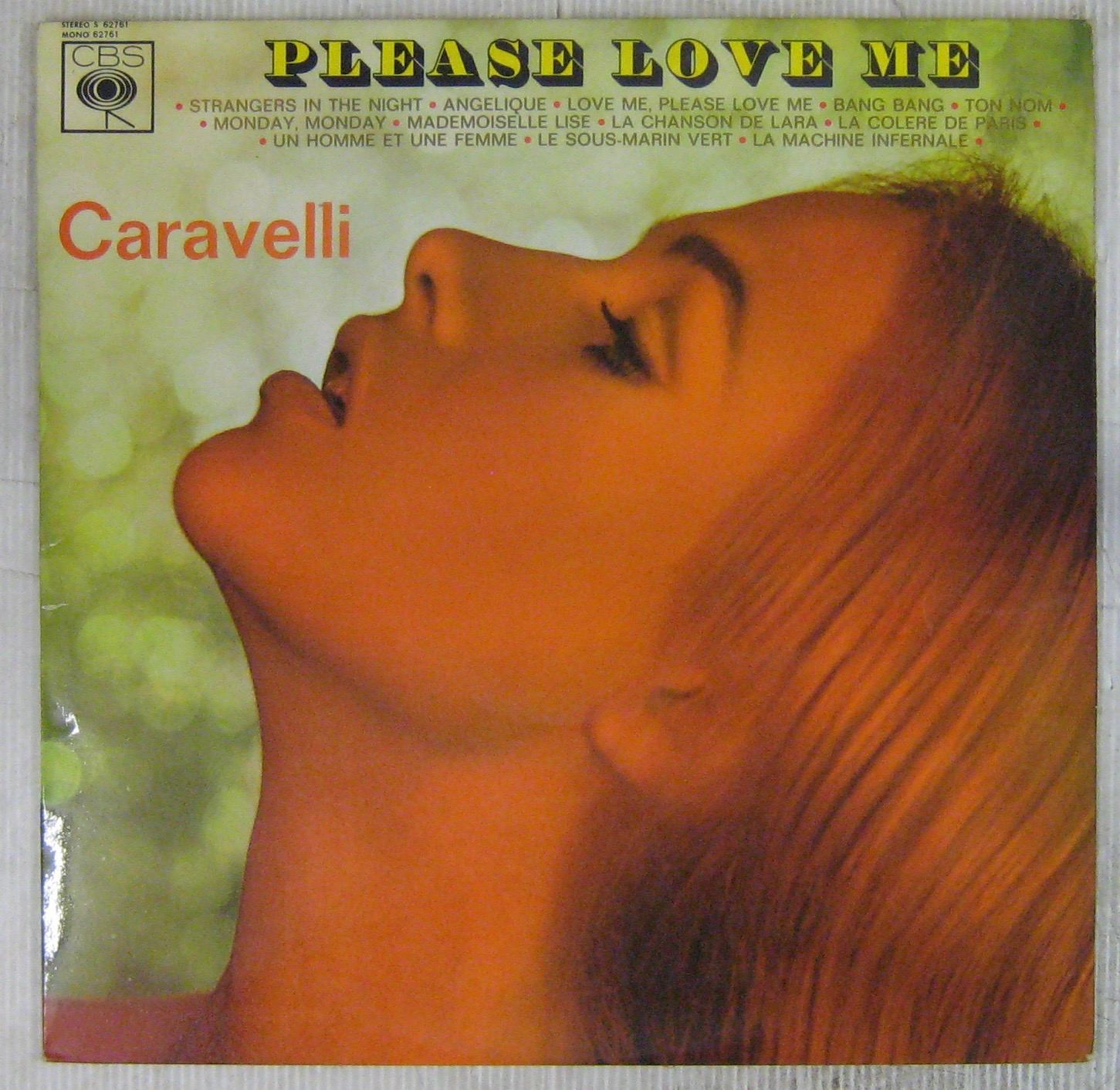 CARAVELLI - Please love me - 33T