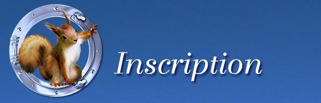Inscription : Devenir Membre du Carnet Suisse 443160-Inscription