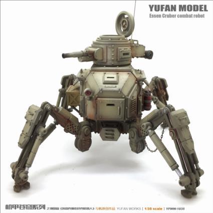 Marcheur  de combat (YUFAN MODEL) 1/48 19073106321322494216337701