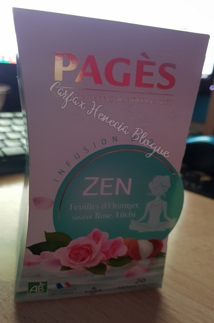 thé rose litchi pages