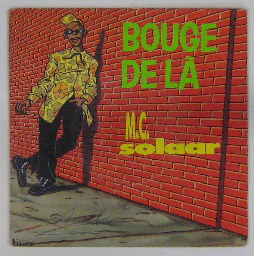 MC SOLAAR - Bouge de là - 45T (SP 2 titres)