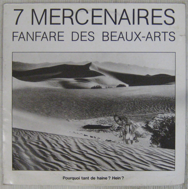 FANFARE DES BEAUX ARTS - 7 mercenaires - LP