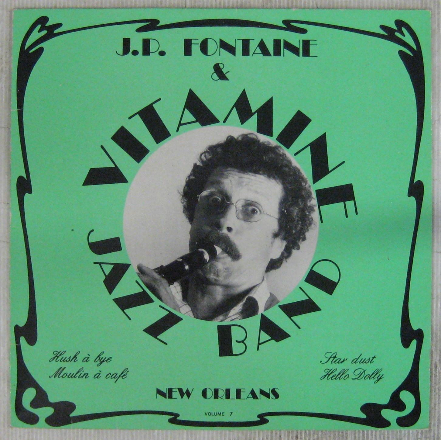 JEAN-PAUL FONTAINE ET VITAMINE JAZZ BAND - New Orleans Volume 7 - LP