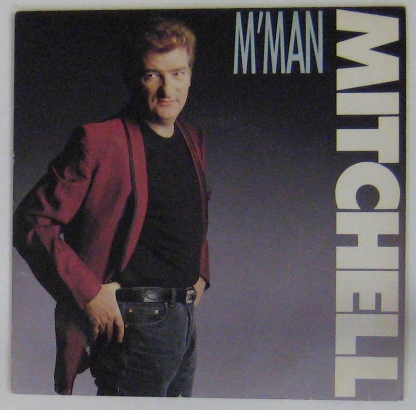 MITCHELL EDDY - M'Man - 45T (SP 2 titres)