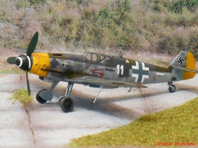 MESSERSCHMITT 109  G.10 AZ model 1/72 1908150612055625616359328