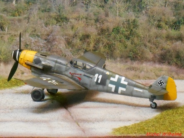 MESSERSCHMITT 109  G.10 AZ model 1/72 1908150612085625616359329
