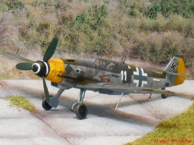 MESSERSCHMITT 109  G.10 AZ model 1/72 1908150612115625616359330