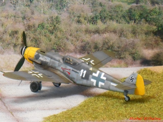 MESSERSCHMITT 109  G.10 AZ model 1/72 1908150612115625616359331