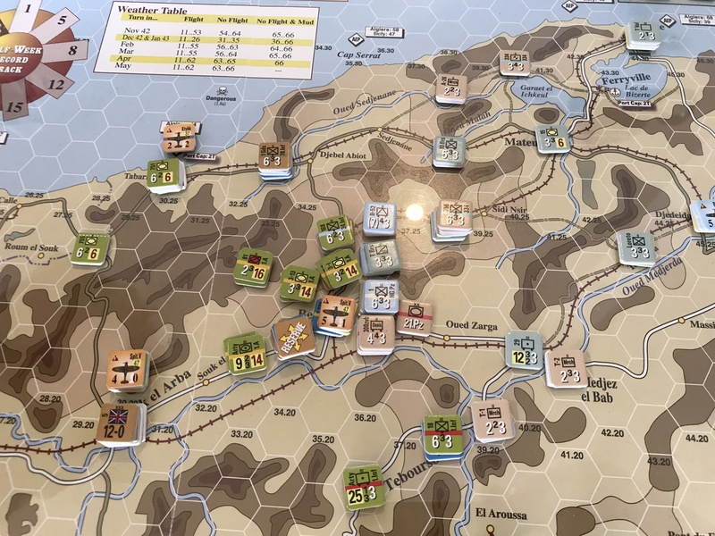Tunisia T37 German end of turn (March 19) North