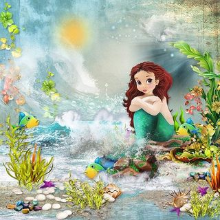 ONCE UPON A TIME A LITTLE MERMAID - jeudi 22 aout / thursday august 22th 19082311002419599816371583